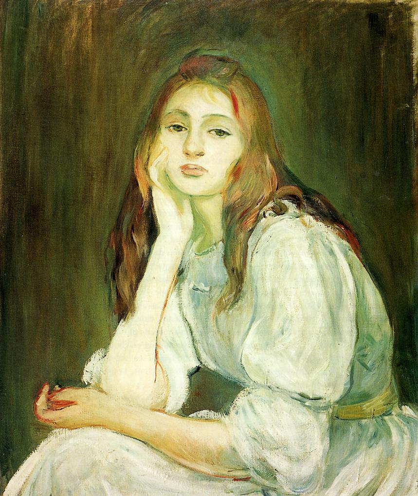 Art of the Day: Berthe Morisot, The Cradle