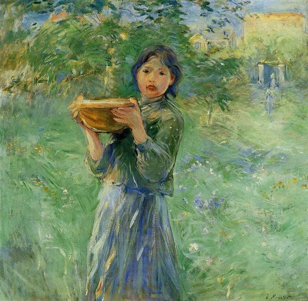 The Bowl of Milk, 1890 - Berthe Morisot