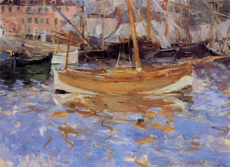 The Port of Nice, 1882 - Berthe Morisot