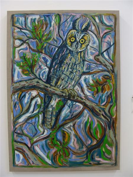Reunion Owl, 2011 - Billy Childish
