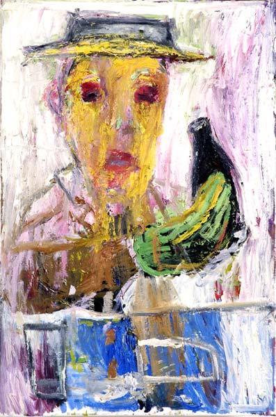 The Drinker, c.1996 - Billy Childish