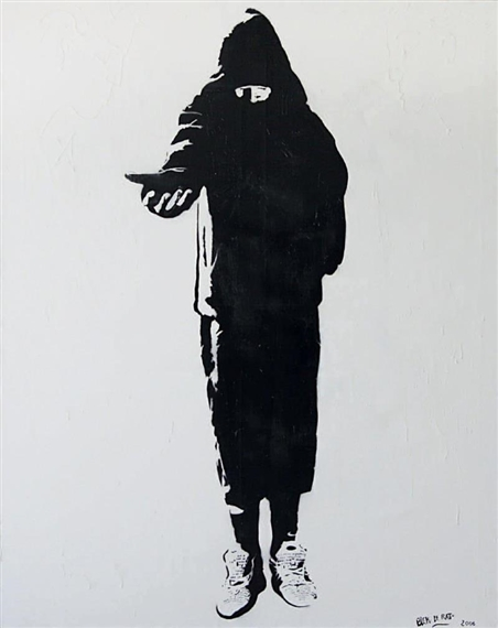 Beggar, 2006 - Blek le Rat