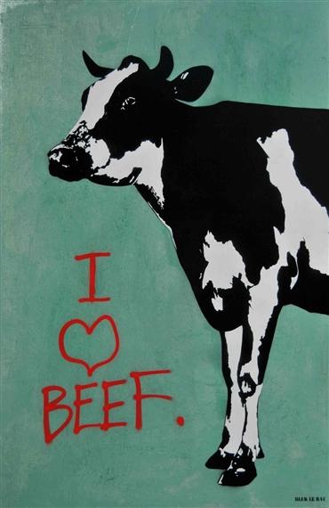 I Love Beef - Blek le Rat