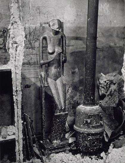 Giacometti's studio, 1947 - Brassai