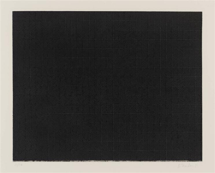 Untitled (From Ten Days), 1971 - Brice Marden