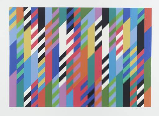 Fete, 1989 - Bridget Riley