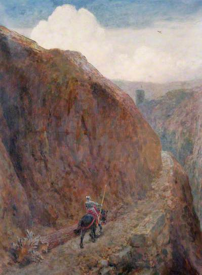 Childe Roland to the Dark Tower Came, 1917 - Briton Riviere