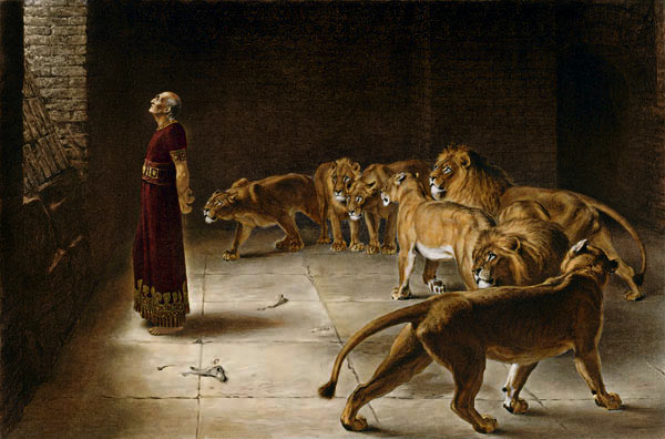 Daniel's Answer to the King, 1890 - Briton Riviere