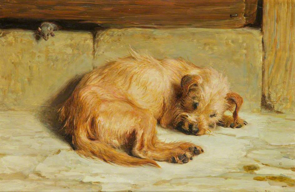 Watching Dog, 1875