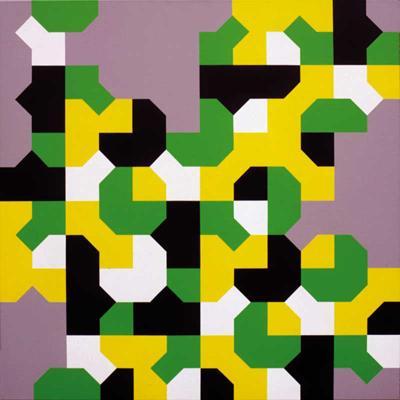 Curva di Peano, 1991 - Bruno Munari