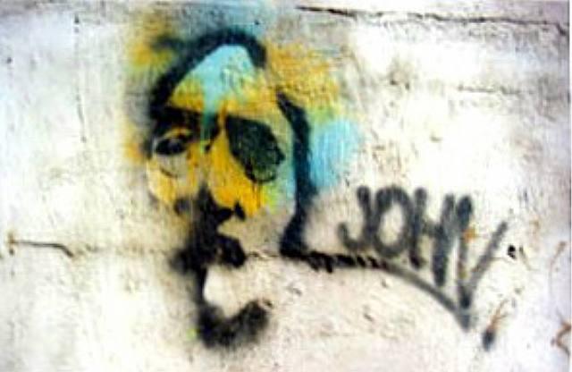New York: John Lennon - Burhan Dogancay