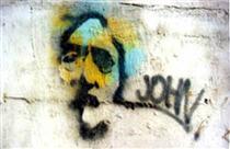 New York: John Lennon - Burhan Cahit Doğançay