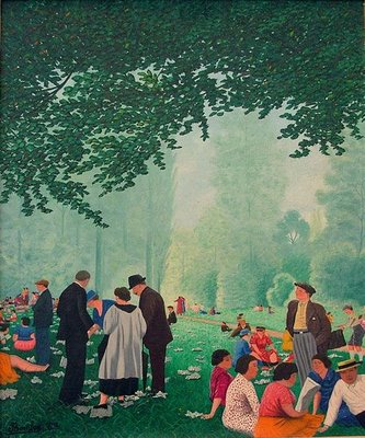 In the Park, 1937 - Camille Bombois