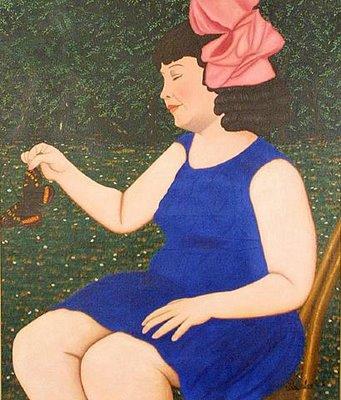 Jeune Fille, 1920 - Camille Bombois