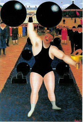 The Athlete, c.1930 - Camille Bombois