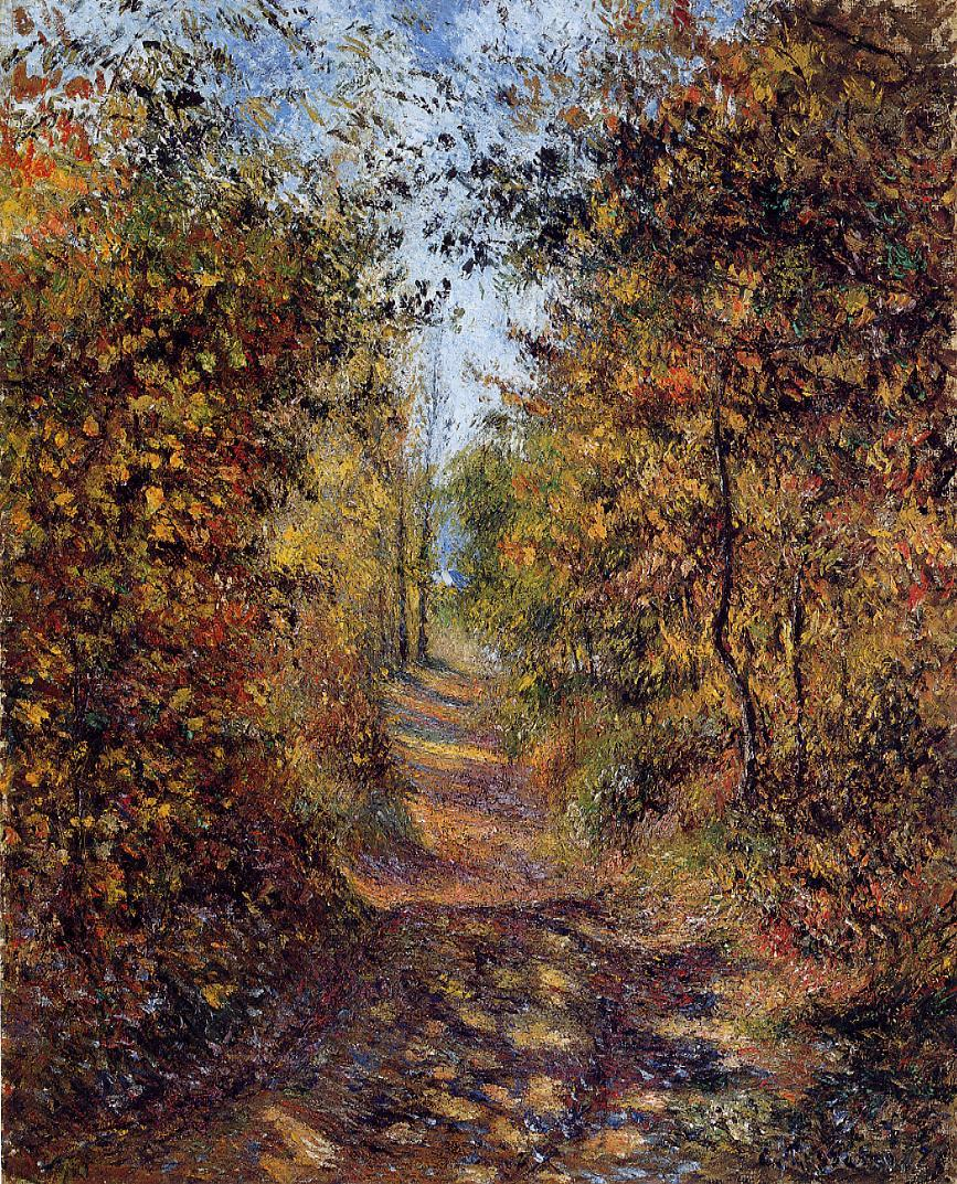 Camille Pissarro: A Path In The Woods, Pontoise