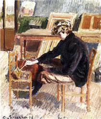 Paul, Study - Camille Pissarro