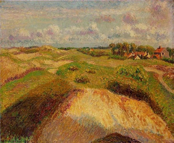 The Dunes at Knocke, Belgium, 1902 - Camille Pissarro