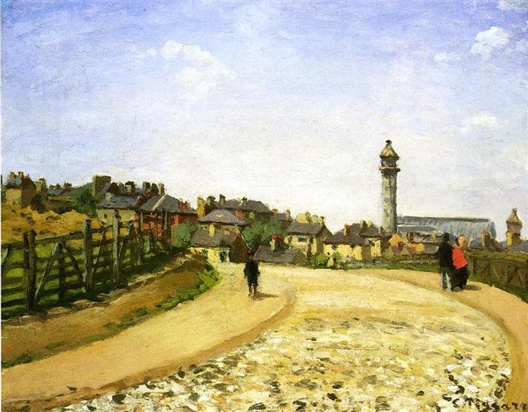 Upper Norwood, Crystal Palace, London, 1870 - Camille Pissarro