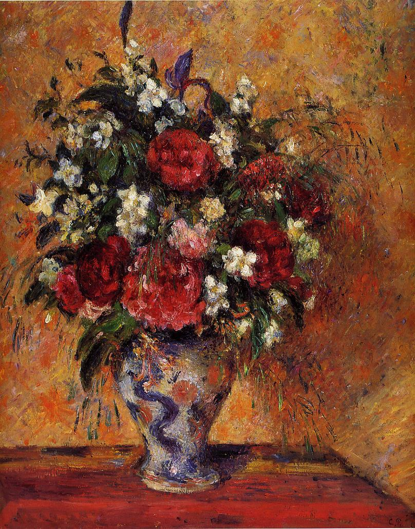 Spring Flowers, 1864 - Claude Monet - WikiArt.org