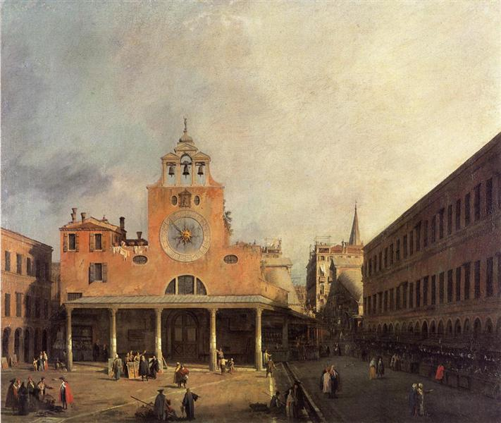 San Giacomo de Rialto, 1725 - 1726 - Canaletto