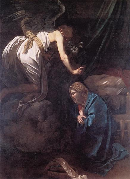Annunciation, 1608 - Caravaggio