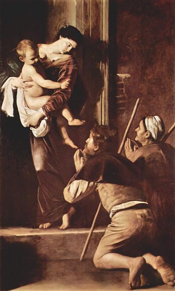 Madonna of Loreto, c.1604 - Caravaggio