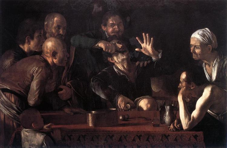 Tooth Puller, 1609 - Caravaggio