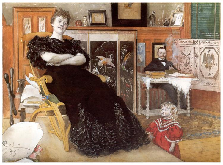 Anna Pettersson - Carl Larsson