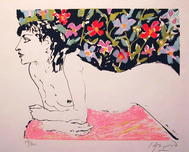 Nude, 1984 - Carlos Alonso