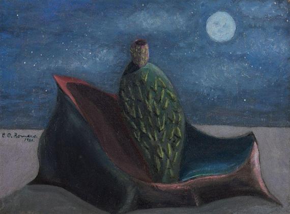 Ensayo de color, 1953 - Carlos Orozco Romero