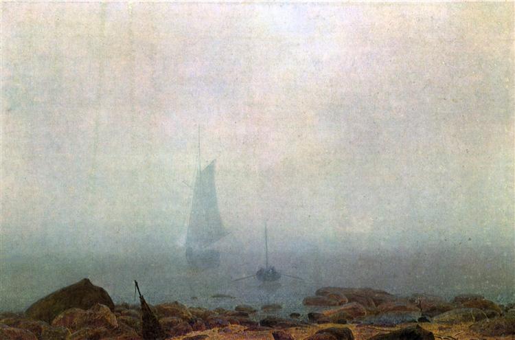 Fog, 1807 - Caspar David Friedrich