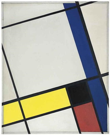 Composition néo-plastique no. 5 O, 1926 - Cesar Domela