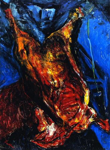 Carcass of Beef - Chaim Soutine
