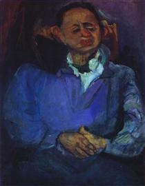 Portrait of the Sculptor, Oscar Miestchaninoff - Chaim Soutine