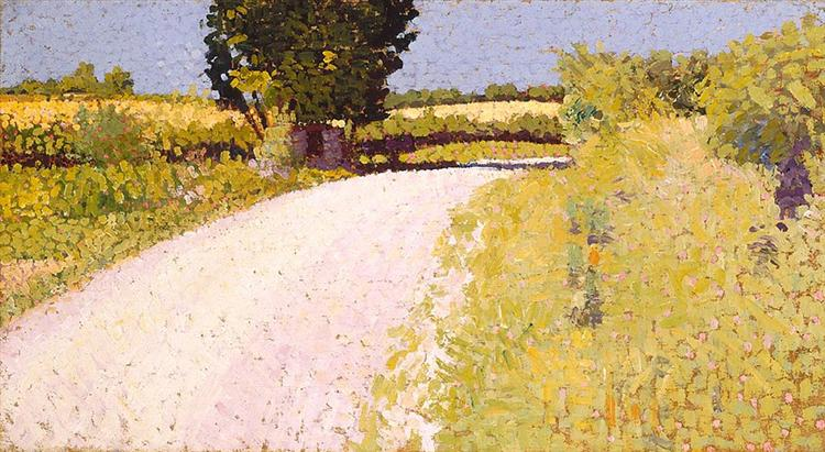 Path in the Country, 1886 - Charles Angrand