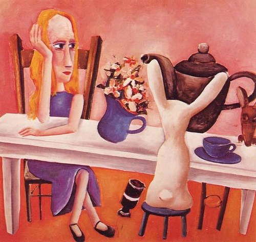 Always Tea Time - Charles Blackman