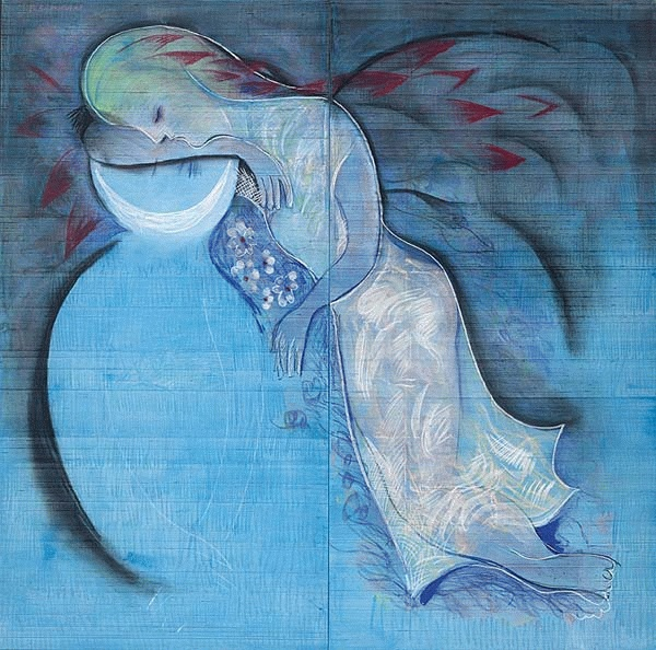 Untitled (Sleeping Figure) - Charles Blackman