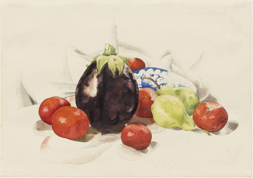Eggplant and Tomatoes, 1926 - Charles Demuth
