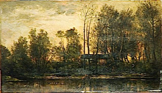 Sunset, Lower Meudon, 1869 - Charles-Francois Daubigny