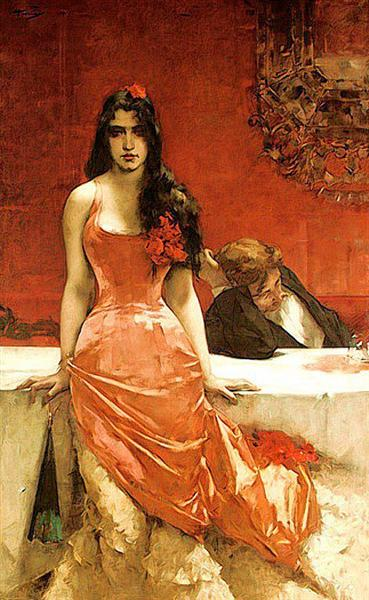 Circe, The Temptress, 1881 - Charles Hermans