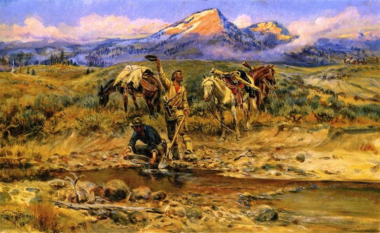 Pay Dirt, 1925 - Charles Marion Russell