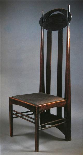 Chair design - Charles Rennie Mackintosh