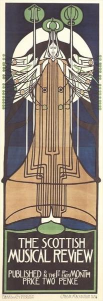 The Scottish Musical Review, 1896 - Charles Rennie Mackintosh