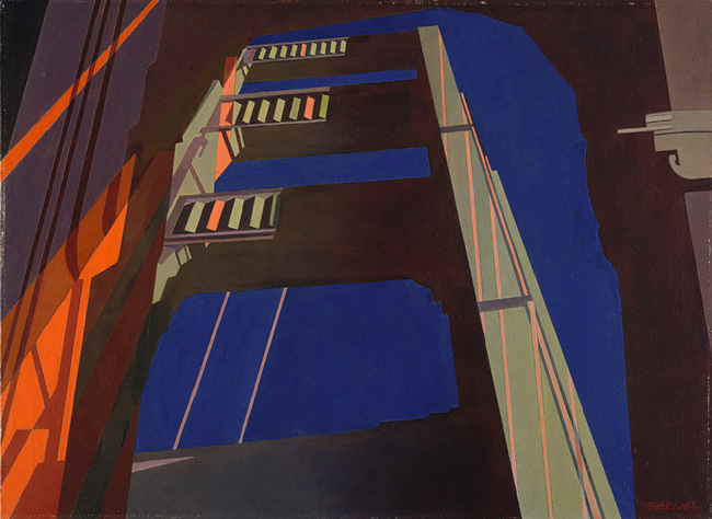 Golden Gate - Charles Sheeler