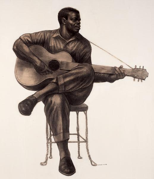 Guitarist, 1959 - Charles Wilbert White
