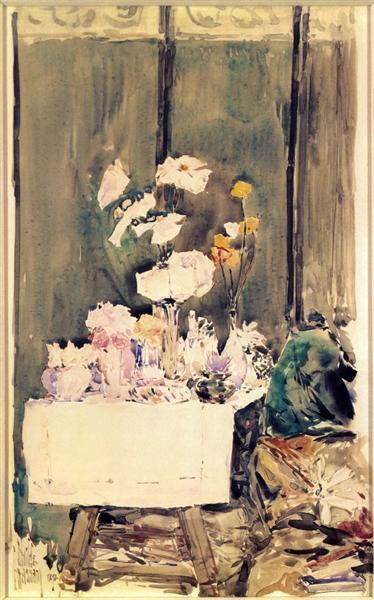 A Favorite Corner, 1892 - Childe Hassam