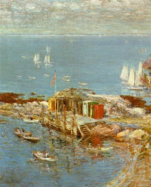 August Afternoon, Appledore, 1900 - Childe Hassam