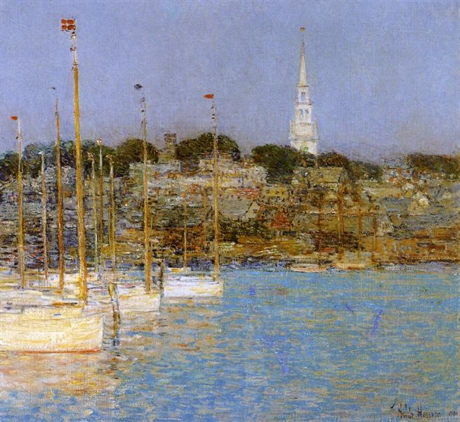 Cat Boats, Newport, 1901 - Childe Hassam