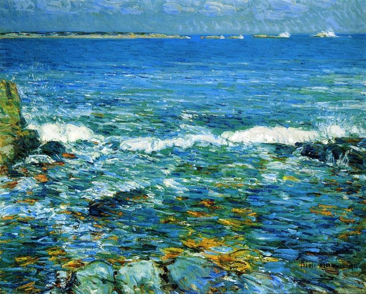 Duck Island from Appledore, 1911 - Childe Hassam
